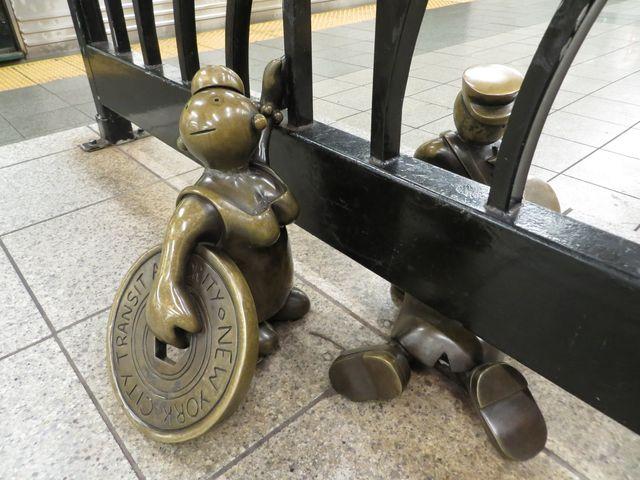 1. New York subway