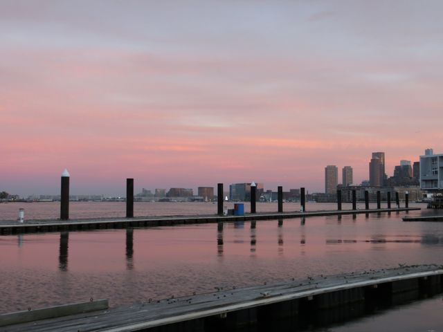 2. Boston sunset